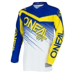 ONeal Element Shirt Racewear Blue-Yellow 2018