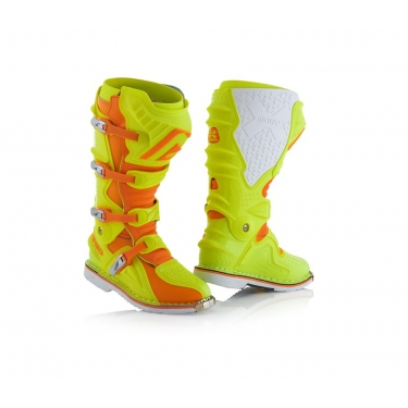Acerbis X-Move 2.0 Boots Yellow-Orange 2018