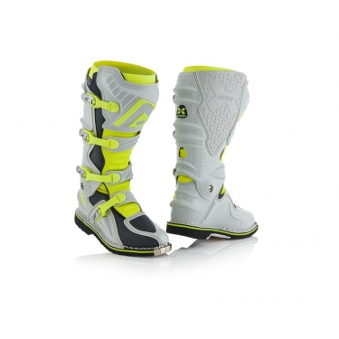 Acerbis X-Move 2.0 Boots Grey-Yellow 2018