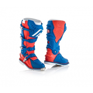 Acerbis X-Move 2.0 Boots Red-Blue 2018