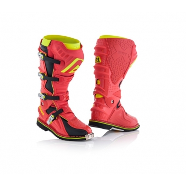 Acerbis X-Move 2.0 Boots Red-Yellow 2018