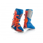 Acerbis Youth Shark Junior Stiefel Blue-Orange Kids 2018