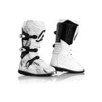 Acerbis Youth Shark Junior Stiefel White-Black Kids 2017