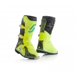 Acerbis Youth Shark Junior Stiefel Black-Yellow Kids 2018
