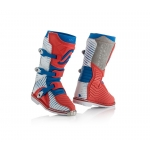 Acerbis Youth Shark Junior Stiefel Red-Blue Kids 2018