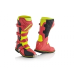 Acerbis X-Pro V. Boots Red-Yellow