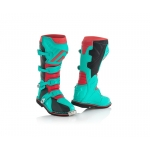 Acerbis X-Pro V. Boots Green-Red