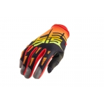 Acerbis MX-X2 Handschuhe Black-Orange 2018