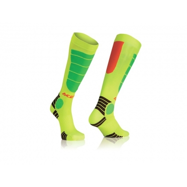 Acerbis MX Impact Socken Orange-Yellow