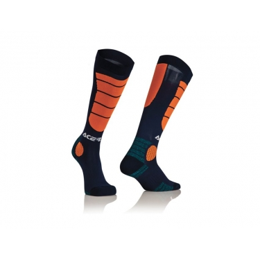 Acerbis MX Impact Socken Blue-Orange