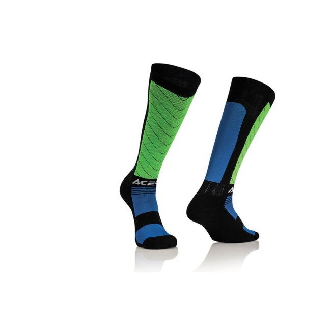 Acerbis MX Compression Socken black-blue