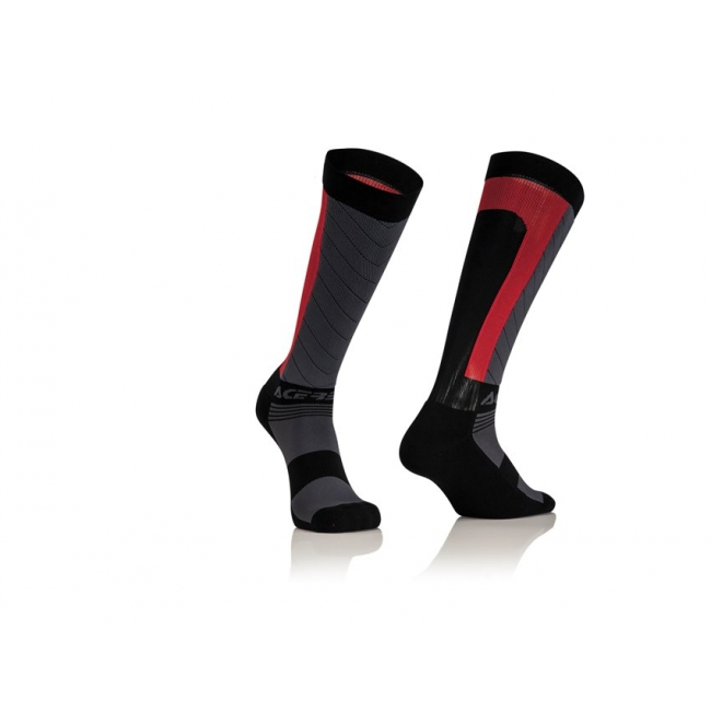 Acerbis MX Compression Socken Black-Red