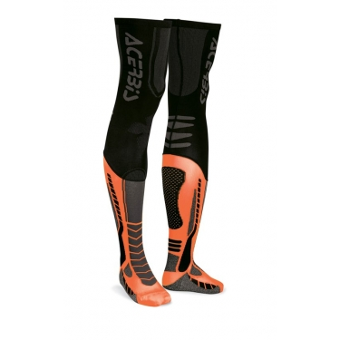 Acerbis X-Leg Pro Socken Black-Orange