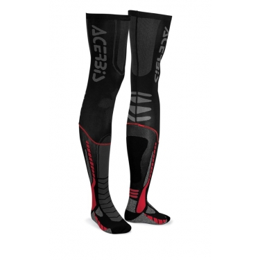 Acerbis X-Leg Pro Socken Black-Red