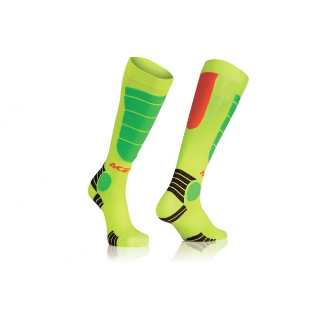 Acerbis Youth MX Impact Junior Socken Orange-Yellow