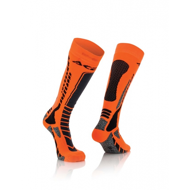 Acerbis MX Pro Socken Black-Orange