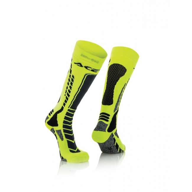 Acerbis MX Pro Socken Black-Yellow