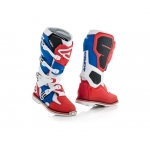 Acerbis X-Rock Stiefel Red-Blue 2018