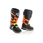 Acerbis X-Rock Stiefel Black-Orange 2018