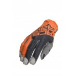 Acerbis MX X-P Gloves Orange-Grey 2020
