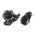 Acerbis X-Power Clutch + Ignition Cover Protectors KTM 250/350 EXC-F 17-, Freeride 4-T 19-, Husqvarna FE 250/350 17-