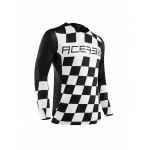 Acerbis LTD Jersey Start & Finish Black-White 2020