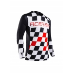Acerbis LTD Jersey Start & Finish Black-Red 2020