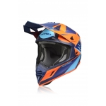 Acerbis X-Track Helmet Blue-Orange 2020