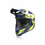 Acerbis X-Track Helm Blue-Yellow 2020