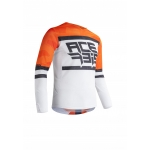 Acerbis Jersey Helios Vented Orange-White 2020