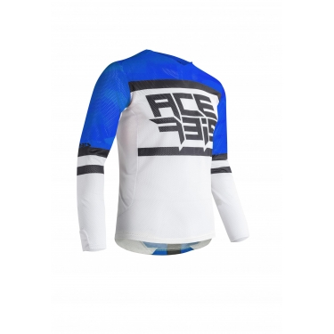 Acerbis Jersey Helios Vented Blue-White 2020