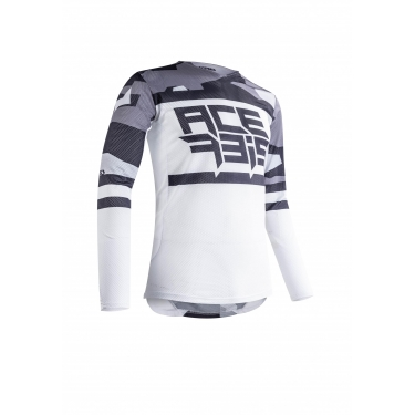 Acerbis Jersey Helios Vented Grey-White 2020