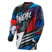 ONeal Mayhem Shirt Lite Glitch Blue-Red 2016 # SALE