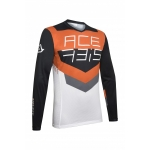 Acerbis Jersey MX Track Black-Orange 2020