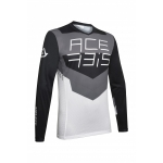 Acerbis Jersey MX Track Black-Grey 2020