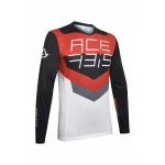 Acerbis Jersey MX Track Black-Red 2020
