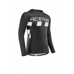 Acerbis Jersey MX Checkmate Black-White 2020