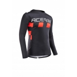Acerbis Jersey MX Checkmate Black-Red 2020