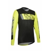 Acerbis Jersey MX Outrun Black-Fluo Yellow 2021