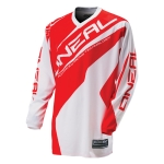 ONeal Element Kids Shirt Racewear White-Red 2016 # SALE