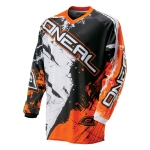 ONeal Element Shirt Shocker Black-Orange 2016-2018