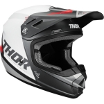 Thor Youth Sector Helmet Blade Charcoal-White Kids 2020