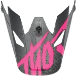 Thor Sector Visor Hype Charcoal-Pink 2019