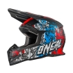 ONeal 5Series Helm Vandal blue/red/white 2017