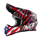 ONeal 3Series Helm Mercury blue/red/white 2017