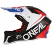 ONeal 10Series Helmet Flow Blue-Red 2016