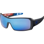 Fox Sonnenbrille The Duncan Matte Black Intake Blue Spark