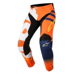 Alpinestars Racer Hose Braap Fluo Orange-Dark Blue-White 2018