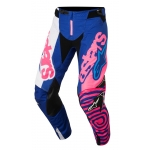 Alpinestars Youth Racer Hose Venom Blue-Fluo Pink-White Kids 2018