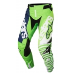 Alpinestars Youth Racer Hose Venom Fluo Green-White-Dark Blue Kids 2018